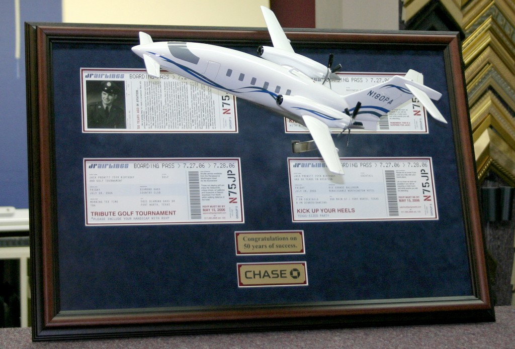 Chase Bank Plane