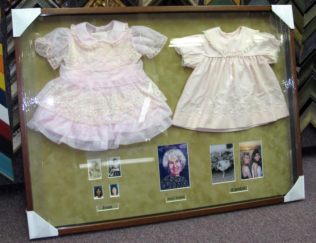 Framed Child's Dress
