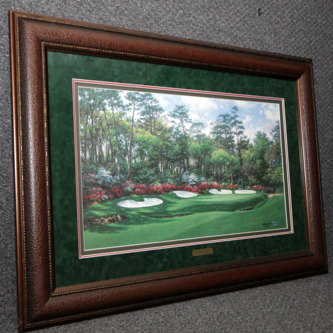 Fine Art Larry Dyke 11th at Augusta Art & Frame Etc
