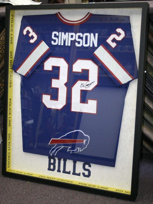 sale retailer 44639 8abfc OJ Simpson Jersey after - Art & Frame Etc.
