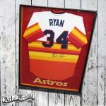 Nolan Ryan autographed Houston Astros jersey
