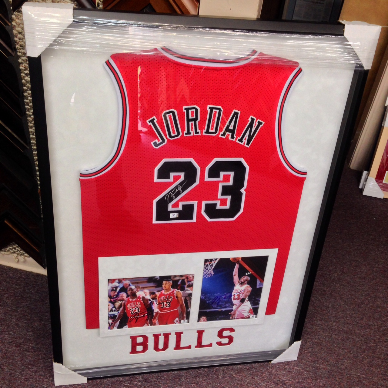 2d1844887 Custom Framing all types of Sports Memorabilia. Art & Frame Etc. ...