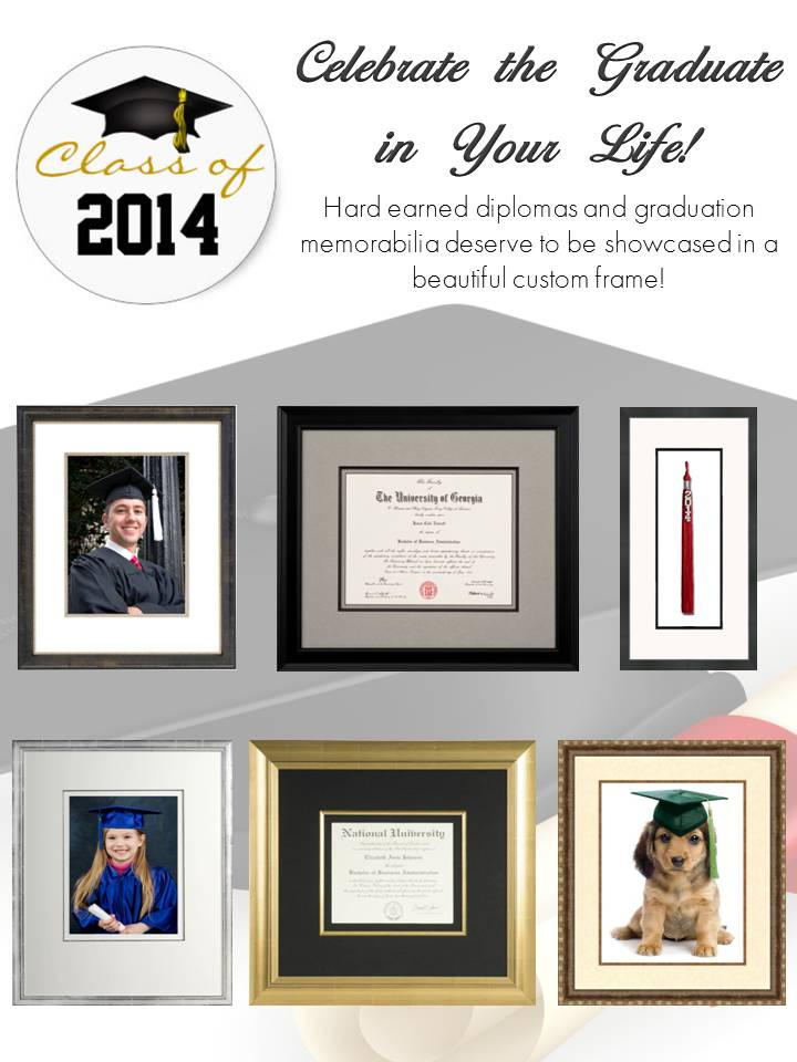 custom framing, Art & Frame Etc, Houston, Graduate, 2014