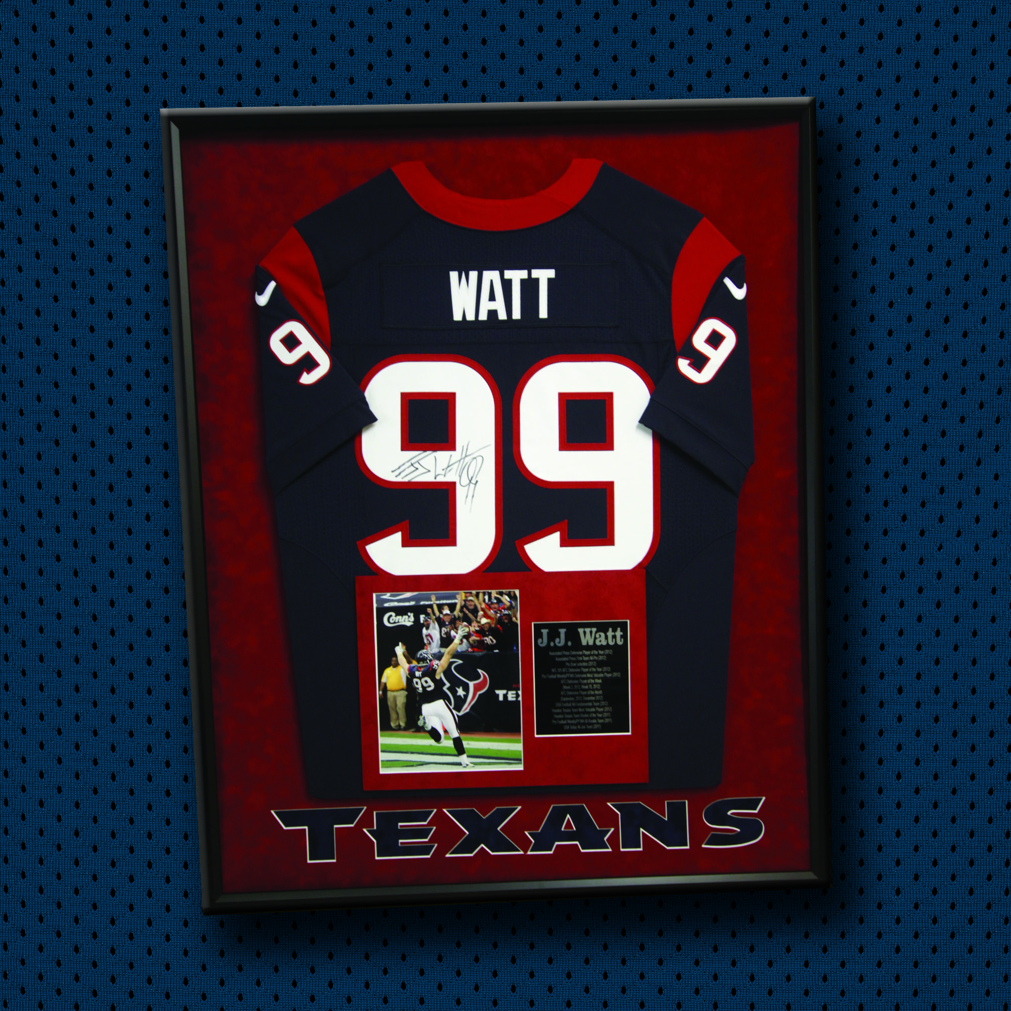 the go to custom Jersey frame shop for Houston\'s professional sports ...